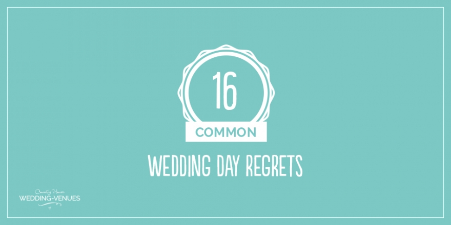 The Most Common Wedding Day Regrets | CHWV
