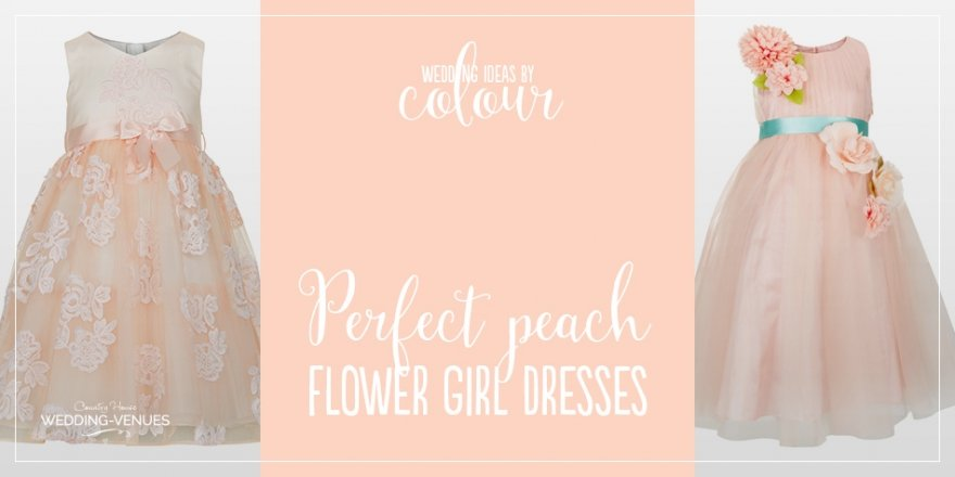 Wedding ideas by colour: 9 Perfect Peach Flower Girl Dresses | CHWV