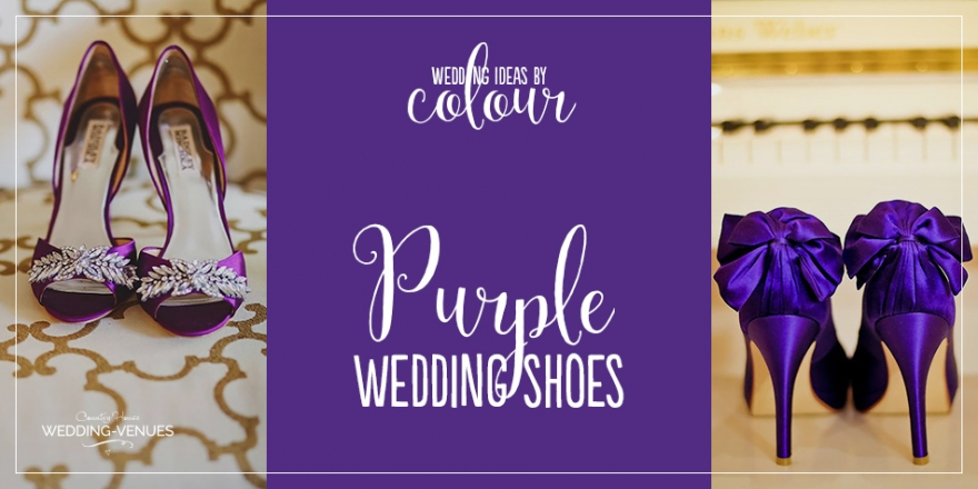Wedding Ideas by Colour: Purple Wedding Shoes | CHWV