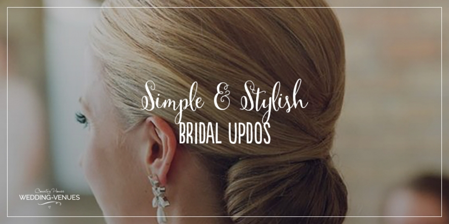 Wedding Hair – Simple and Stylish Updos | CHWV