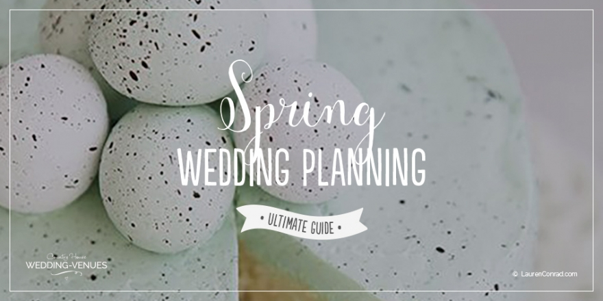 Spring Wedding Planning - Ultimate Guide | CHWV