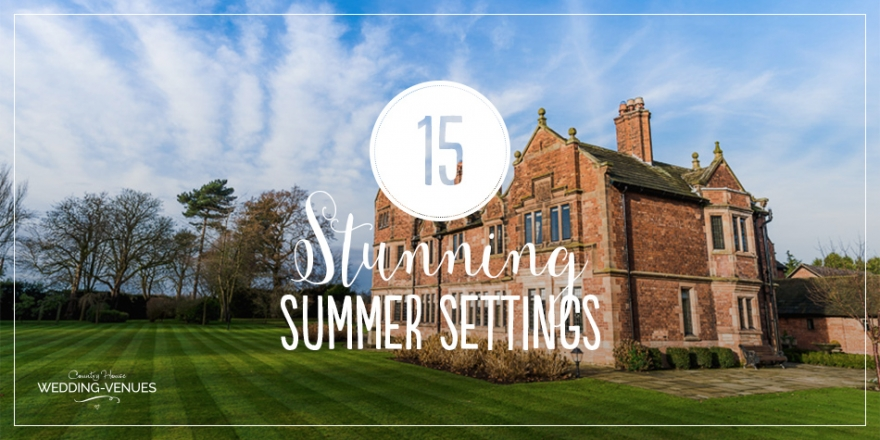 15 Stunning Summer Wedding Venue Settings