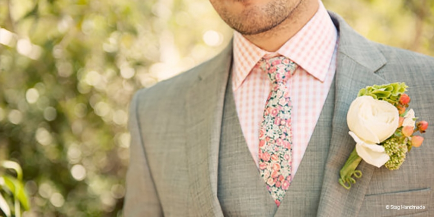 How To Find The Best Spring Wedding Suit | CHWV