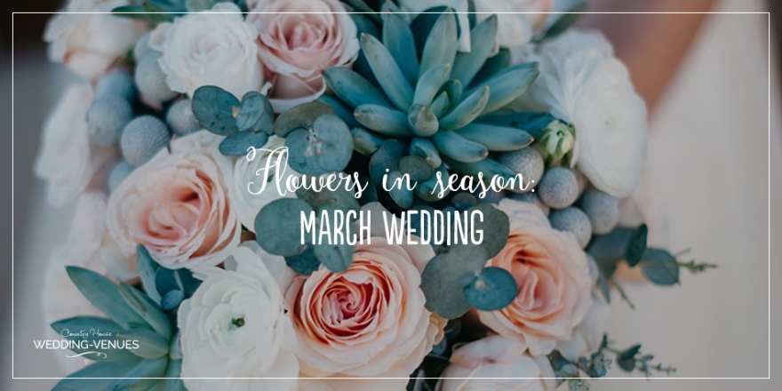 Wedding Flowers in Season: March Wedding | CHWV