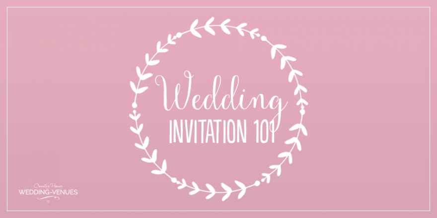 Wedding Invitations 101 | CHWV