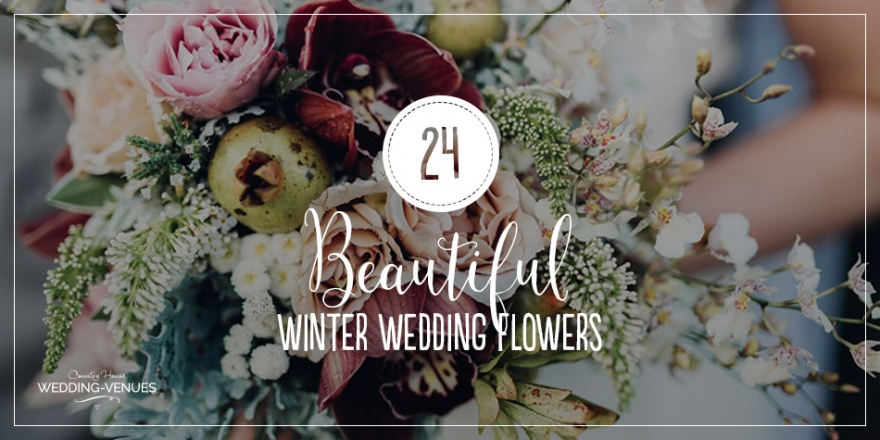 24 Beautiful Winter Wedding Flowers | CHWV