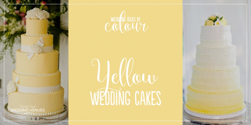 Wedding Ideas by Colour: Yellow Wedding Cakes | CHWV