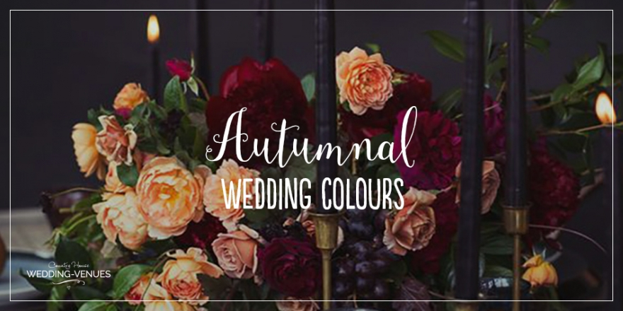 The Best Autumnal Wedding Colours | CHWV