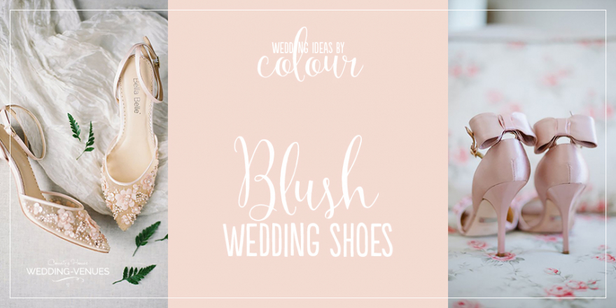 Wedding Ideas By Colour: Blush Wedding Shoes | CHWV