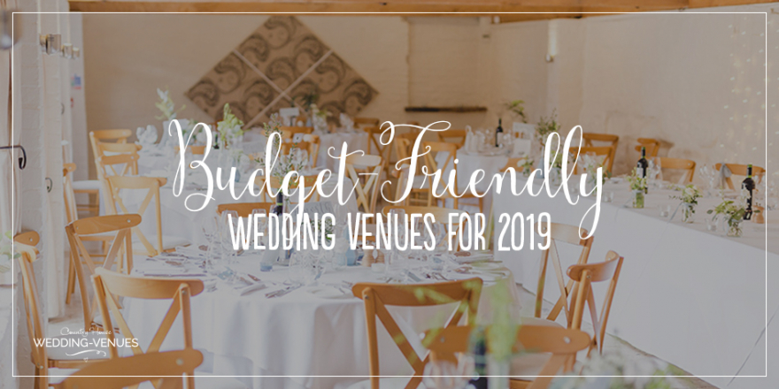 Budget-Friendly Wedding Venues For 2019 | CHWV