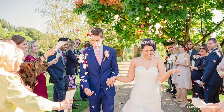 Real Wedding - Claire and Steve's Beautiful Autumn Wedding At Gaynes Park