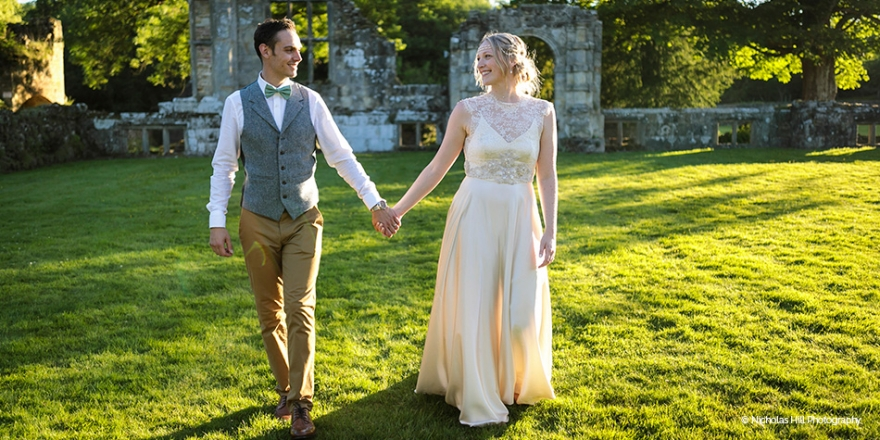 Real Wedding - Emma and Gareth's Stunning Spring Wedding At Slaugham Place | CHWV