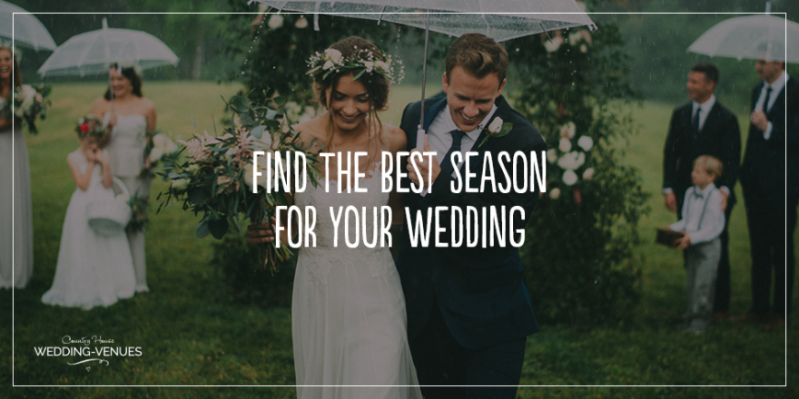 Find The Best Seasons For Your Wedding | CHWV