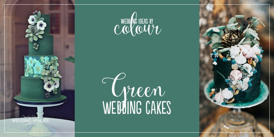 Wedding Ideas By Colour: Green Wedding Cakes | CHWV