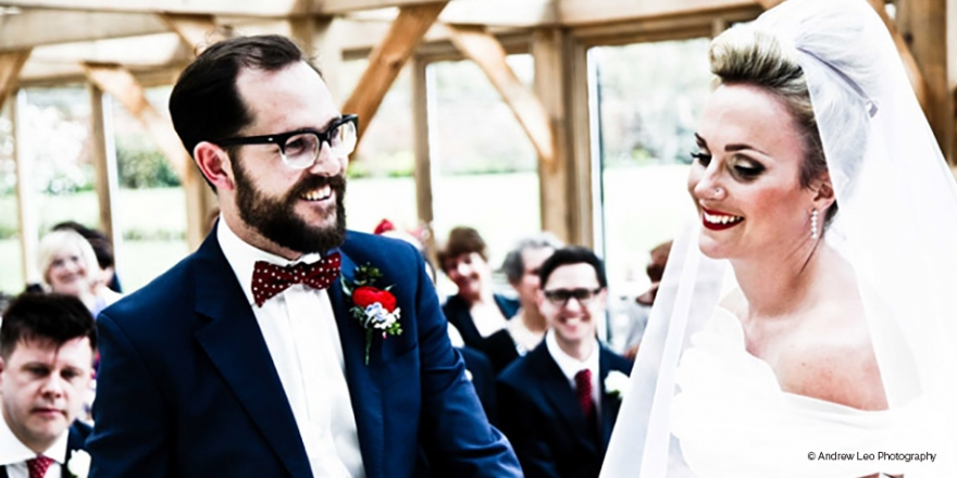 Hannah & Andy's 50s-style Wedding | CHWV