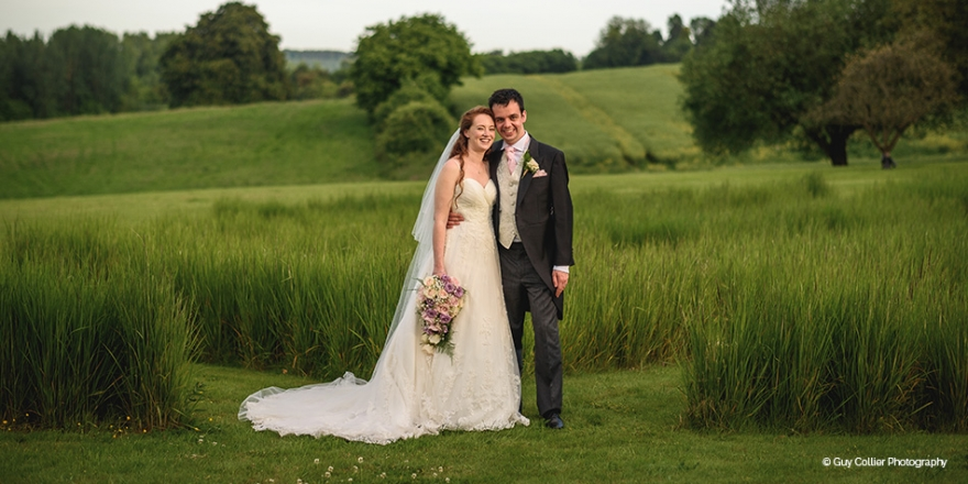 Real wedding - Kristina and Daniel's Rustic Countryside Wedding at The Barn at Bury Court | CHWV