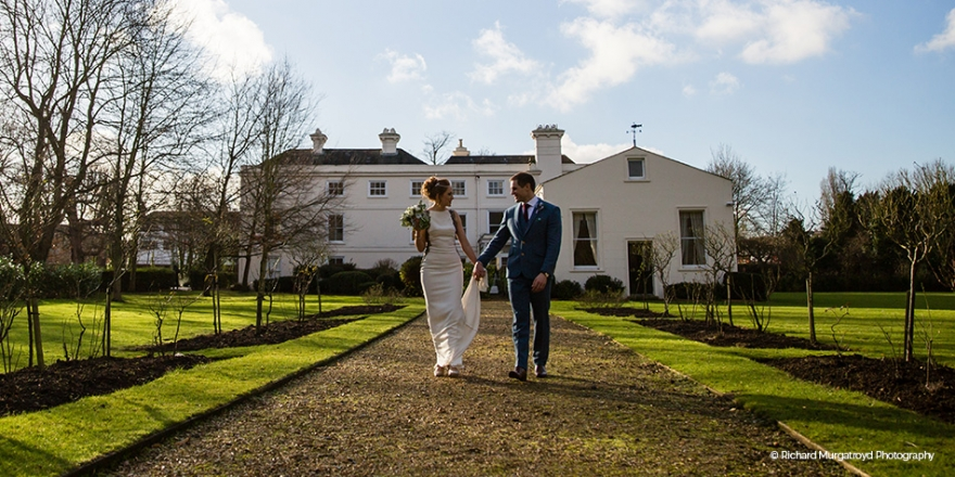 Real Wedding - Liz and Andrew's Winter Wedding at Morden Hall | CHWV