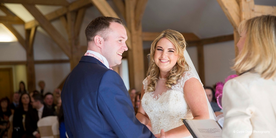 Micaela and Garry's Lively Wedding at Sandhole Oak Barn | CHWV