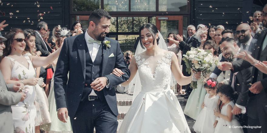 Real Wedding - Noora and Nashwan's Country Summer Wedding at Upwaltham Barns | CHWV