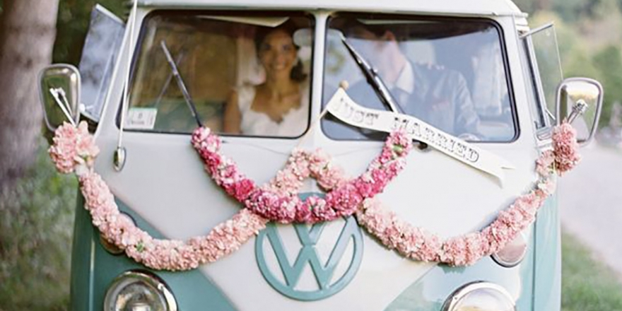 Quirky wedding transport - How to arrive in a more unusual style | CHWV