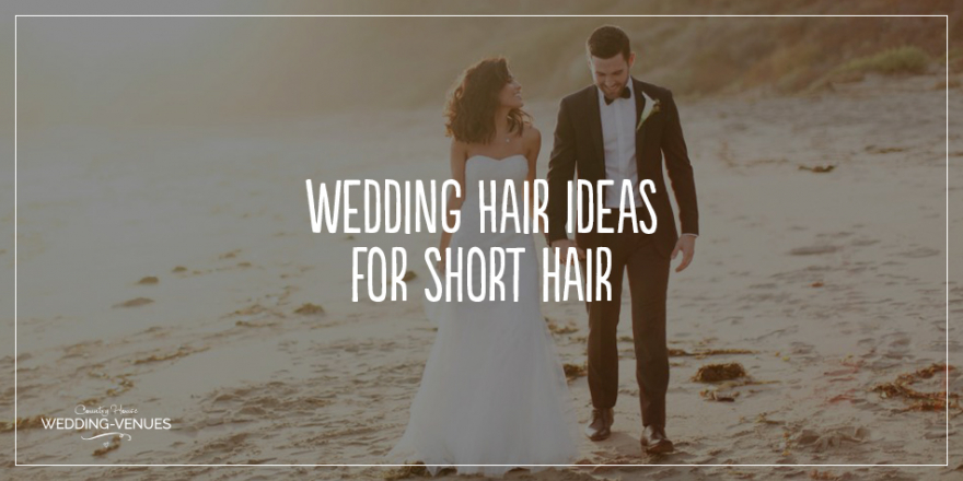 The Best Wedding Hairstyles For Short Hair | CHWV