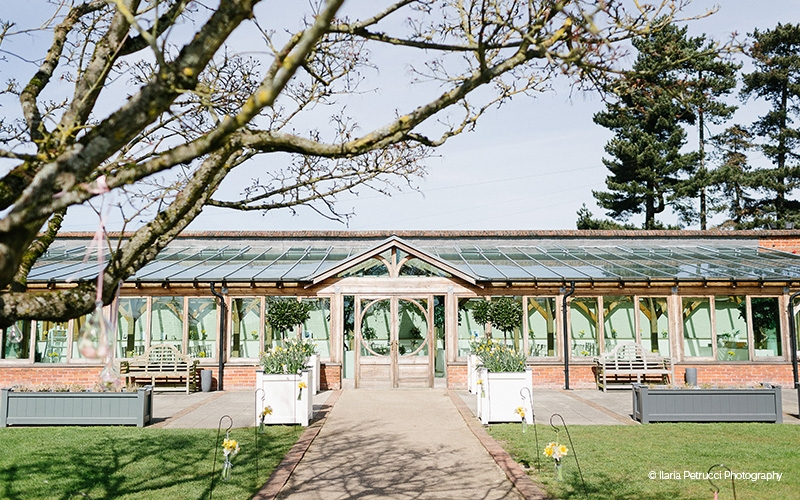 The Orangery at Gaynes Park barn wedding venue in Essex | CHWV