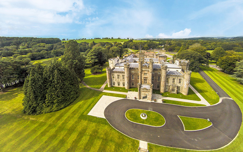 Spectacular Castle Wedding Venue In South Wales Hensol Castle Chwv