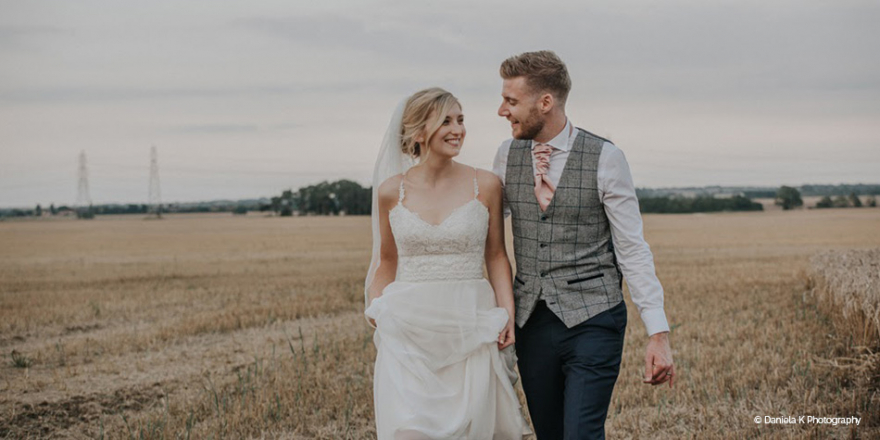 Real Wedding - Jessica and Joe's Stunning Summer Wedding at Bassmead Manor Barns | CHWV