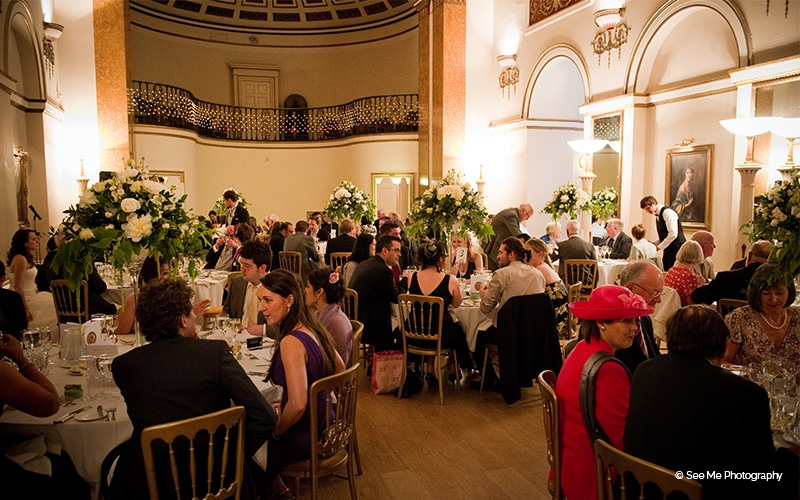 Lansdowne Club wedding venue in London