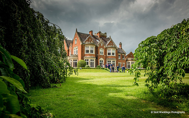 Pendrell Hall wedding venue in Staffordshire | CHWV