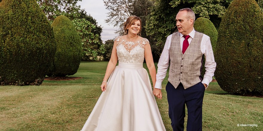 Real Wedding - Sarah and Rob's Elegant Summer Wedding At The Elvetham | CHWV