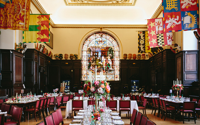 Stationers' Hall and Garden wedding venue in London | CHWV