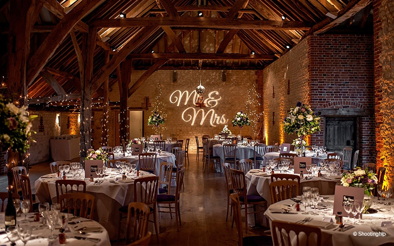 The Barn at Bury Court wedding venue in Surrey | CHWV