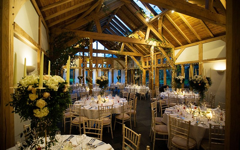 The function room at The Oak Tree of Peover wedding venue in Cheshire | CHWV