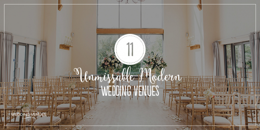 11 Unmissable Modern Wedding Venues | CHWV