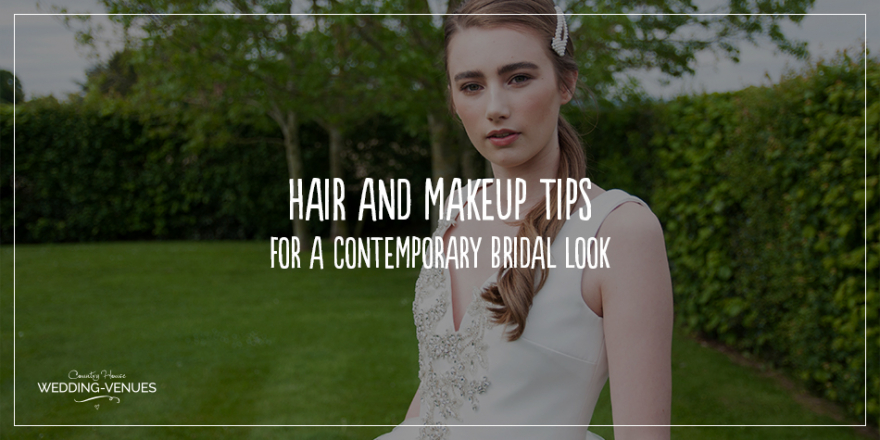 Wedding Hair and Makeup Tips For A Contemporary Bridal Look | CHWV