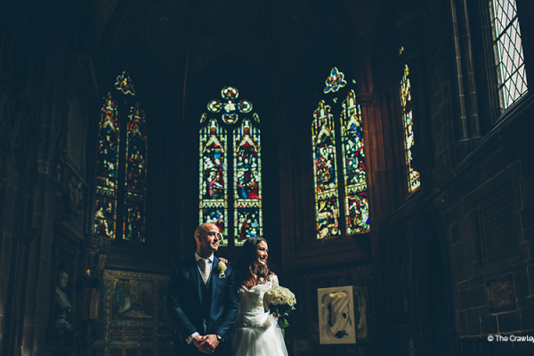 St John's Church near Old Palace Chester wedding venue in Cheshire | CHWV