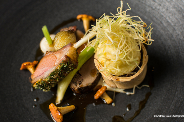 Delicious Galloping Gourmet food at Old Palace Chester wedding venue in Cheshire | CHWV
