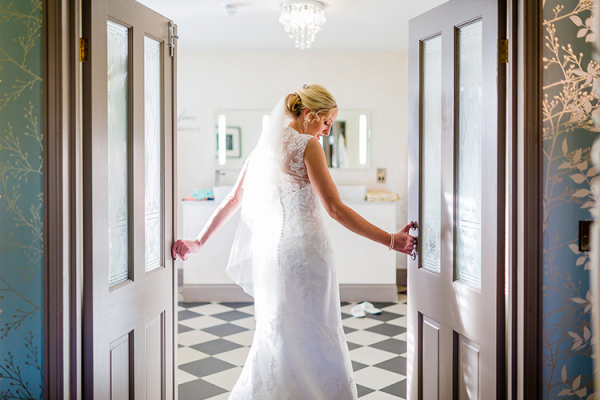 Bride at Southdowns Manor | West Sussex wedding venues
