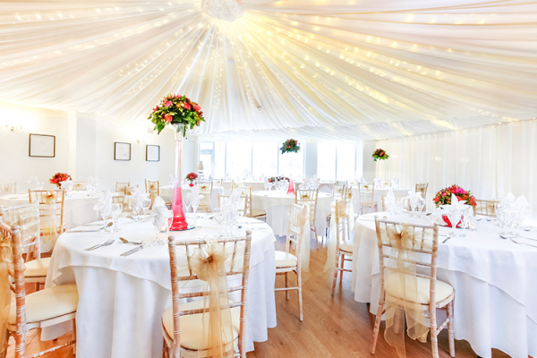 Wedding Reception at Southdowns Manor | West Sussex wedding venues