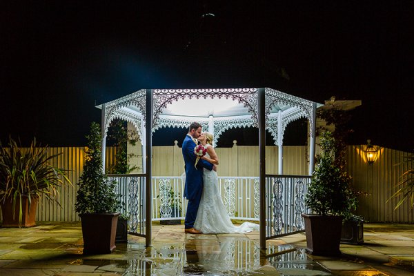 Gazebo at Southdowns Manor | West Sussex wedding venues