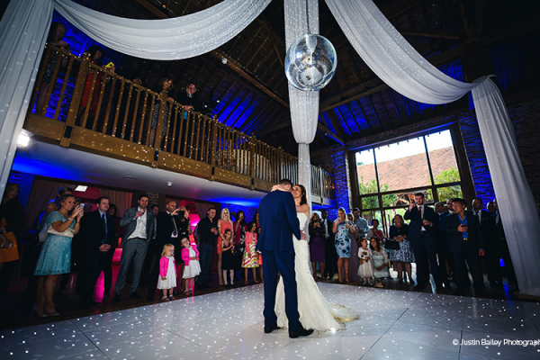 First dance in the Mill Barn