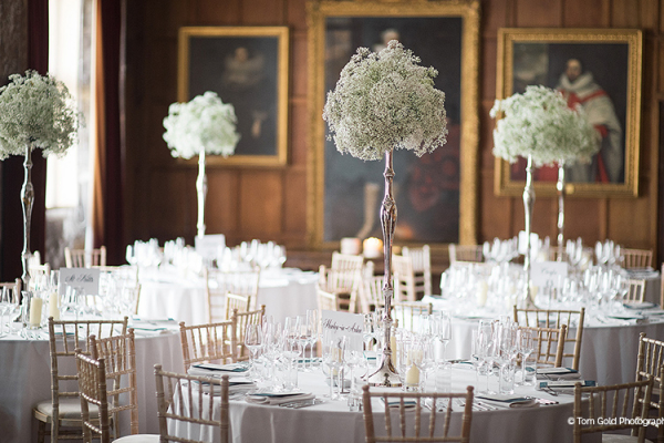 A wedding reception at Breamore House - Country House Wedding Venue in Hampshire