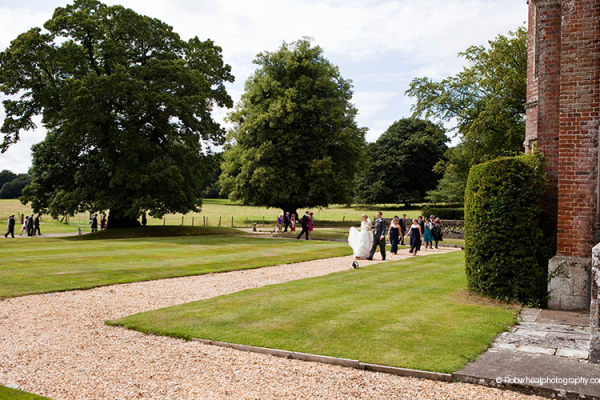 The gardens at Breamore House in Hampshire