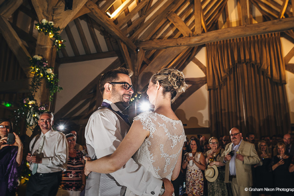 First dance at Cain Manor | Wedding Venues Surrey
