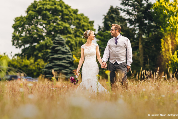 Grounds at Cain Manor | Wedding Venues Surrey