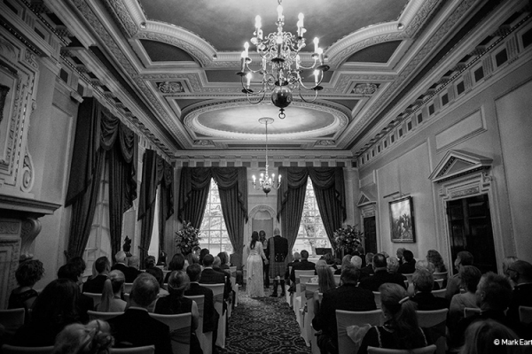 A ceremony at Caledonian Club