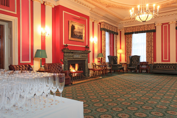 One of the reception rooms licensed for Civil Ceremony at Caledonian Club