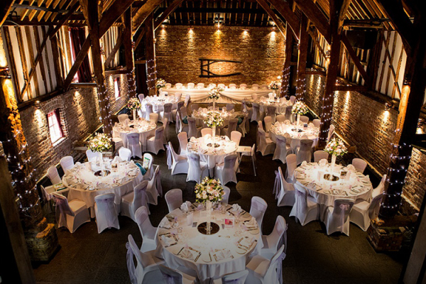Cooling Castle Barn Wedding Venues 1 - Traditional Wedding Reception Songs