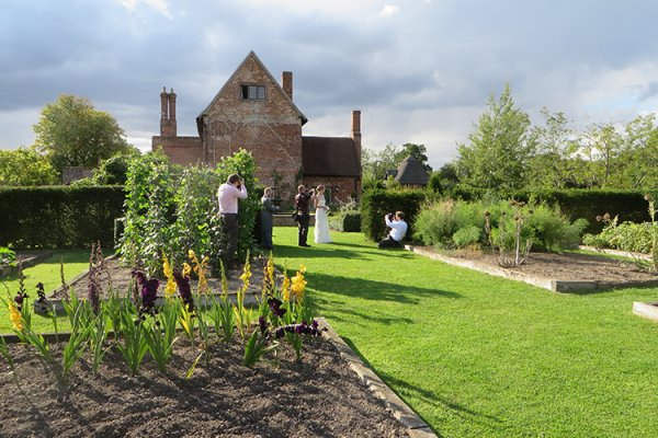 Beautiful grounds at Crows Hall for your wedding photographs